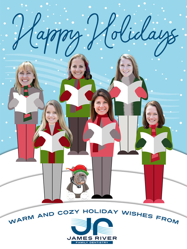 Happy Holidays from Dr. Guthrie and James River Family Dentistry!